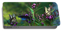 Butterflies Three Portable Battery Charger
