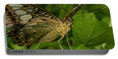 Portable Battery Charger featuring the photograph Butterfly 2 by Olga Hamilton