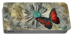 Butterfly And Daisy - Ftd01t01 Portable Battery Charger