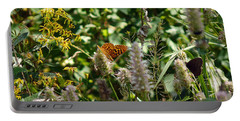 Butterfly Buffet Portable Battery Charger by Meghan at FireBonnet Art