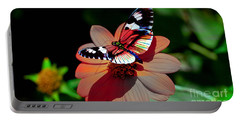Butterfly Dont Fly Away Portable Battery Charger by Marvin Blaine