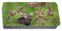 Butterfly Duet  Portable Battery Charger by Kerri Farley