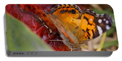 Portable Battery Charger featuring the photograph Butterfly by Erika Weber