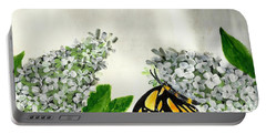 Butterfly Portable Battery Charger by Francine Heykoop