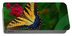 Portable Battery Charger featuring the photograph Butterfly by Geraldine DeBoer