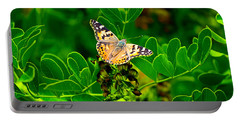 Butterfly In Paradise Portable Battery Charger