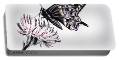 Butterfly Portable Battery Charger by Katharina Filus