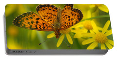 Portable Battery Charger featuring the photograph Butterfly by James Peterson