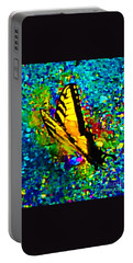 Butterfly Mosaic Portable Battery Charger