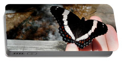 Butterfly On Fingertips Portable Battery Charger