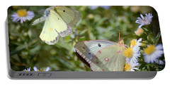 Butterfly Moments  Portable Battery Charger by Kerri Farley