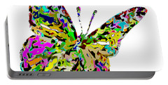 Butterfly Color Flutter Portable Battery Charger