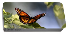 Butterfly -  Soaking Up The Sun Portable Battery Charger by Travis Truelove