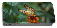 Portable Battery Charger featuring the photograph Butterfly Wings Of Sun Light by Thomas Woolworth