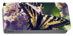 Portable Battery Charger featuring the photograph Butterfly by Yulia Kazansky