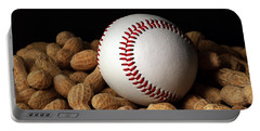 Buy Me Some Peanuts - Baseball - Nuts - Snack - Sport Portable Battery Charger