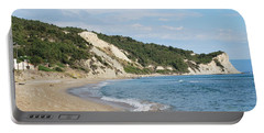 Portable Battery Charger featuring the photograph By The Beach by George Katechis