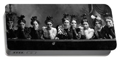 C. 1890 American Girls Portable Battery Charger by Historic Image
