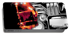 Portable Battery Charger featuring the digital art C3po by J Anthony