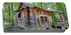Portable Battery Charger featuring the photograph Cabin In The Woods by Gordon Elwell