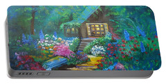 Cabin In The Woods Jenny Lee Discount Portable Battery Charger