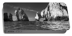 Cabo In Black And White Portable Battery Charger