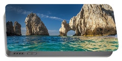 Cabo San Lucas Portable Battery Charger by Sebastian Musial