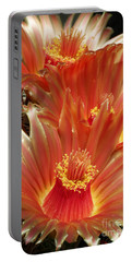 Cactus Blossoms Portable Battery Charger