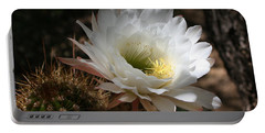 Cactus Flower Full Bloom Portable Battery Charger