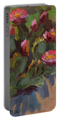 Cactus In Bloom 2 Portable Battery Charger