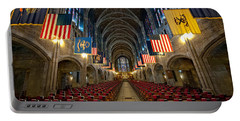 Cadet Chapel Portable Battery Charger by Dan McManus