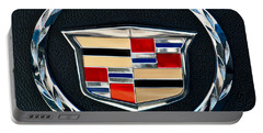 Cadillac Emblem Portable Battery Charger