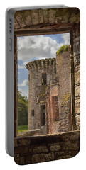 Caerlaverock Castle Portable Battery Charger by Eunice Gibb