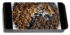 Caged Jaguar Portable Battery Charger