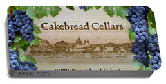 Cakebread Cellars Portable Battery Charger