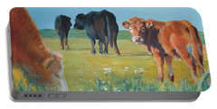 Calf Painting Portable Battery Charger