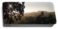 Portable Battery Charger featuring the photograph Cali Sun Set by Shawn Marlow