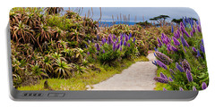 California Coastline Path Portable Battery Charger