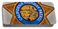 California Highway Patrol Portable Battery Charger