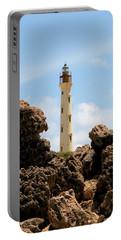 California Lighthouse Aruba Portable Battery Charger by DJ Florek