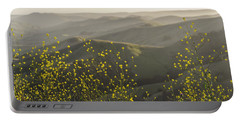 Portable Battery Charger featuring the photograph California Wildflowers by Steven Sparks