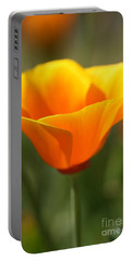 Portable Battery Charger featuring the photograph Californian Poppy by Joy Watson