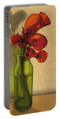 Calla Lilies In Bloom Portable Battery Charger