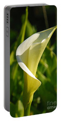 Calla Lily Portable Battery Charger by Mary Carol Story