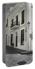 Calle De Luna Y Calle Del Cristo Portable Battery Charger by Daniel Sheldon