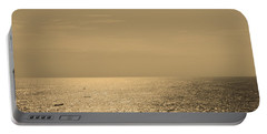 Calm Arabian Sea Portable Battery Charger by Mini Arora