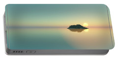 Calm Seas Sunset... Portable Battery Charger
