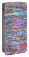 Portable Battery Charger featuring the digital art Calmer Waters by Stephanie Grant