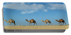 Camel Train Portable Battery Charger by Anonymous