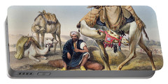 Camels Resting In The Sherkiyeh, Land Portable Battery Charger